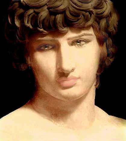 HOLLYWOOD ? Antinous the Gay God is the deified Lover of the Roman Emperor ...